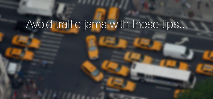 8 tips to help you avoid traffic jams