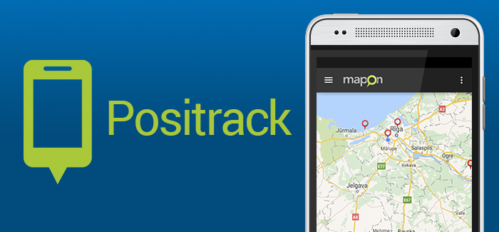Seuraa mobiililaitteitasi Maponin Positrackin avulla