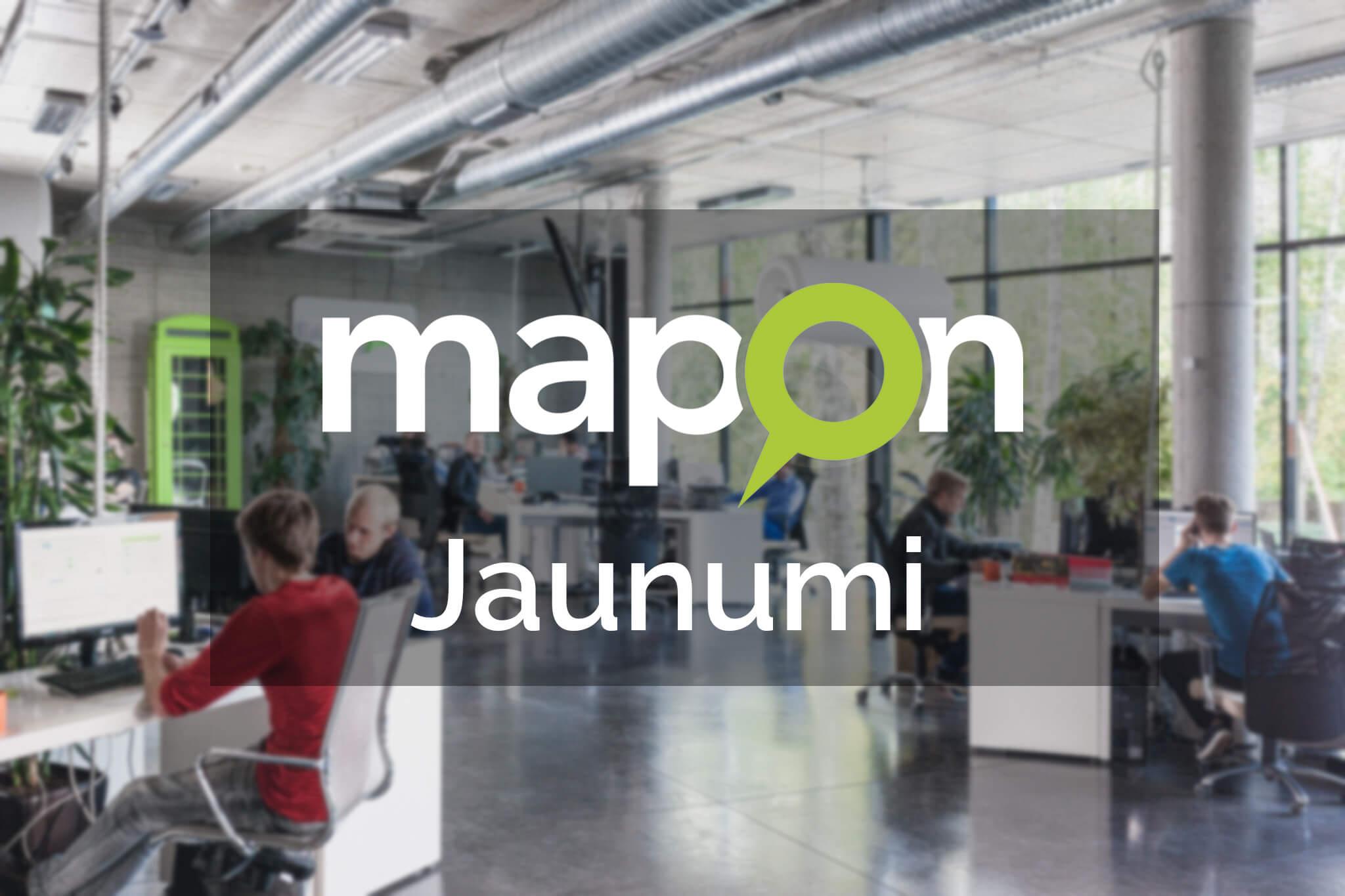 Mapon Jaunumi – API mūsu CRM sistēmai, uzlabojumi PRO sistēmā un Mapon GO