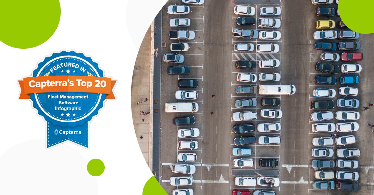 Mapon has been listed as 15 on Capterra's Top 20 Most Popular Fleet Management Software