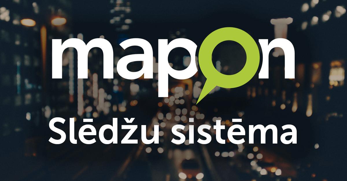 Ērti seko līdzi Mapon slēdžu statusiem tiešsaistē un maršrutu vēsturē