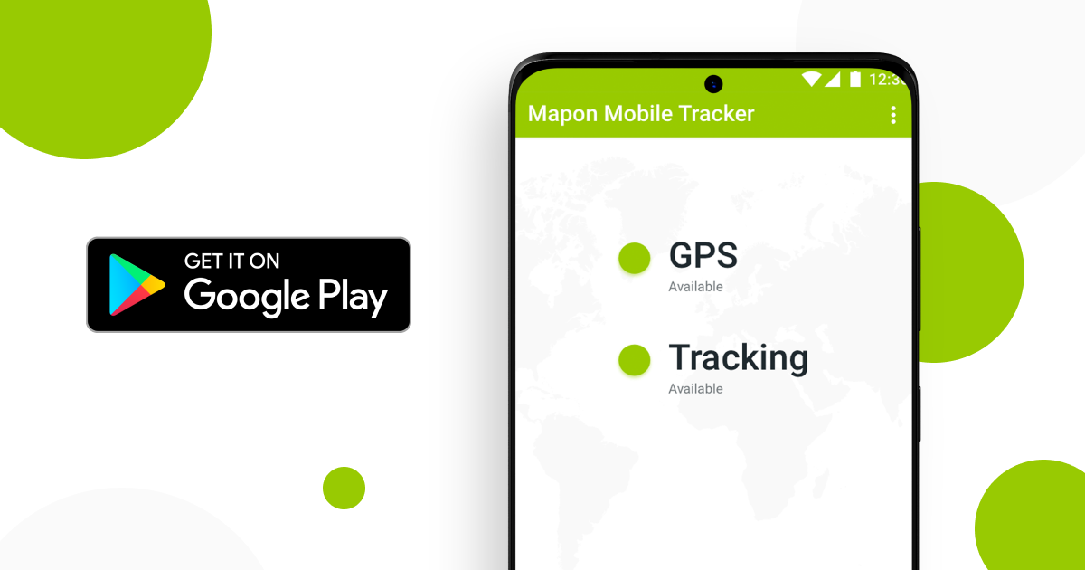 Mapon Mobile Tracker – turn your phone into a GPS tracking device