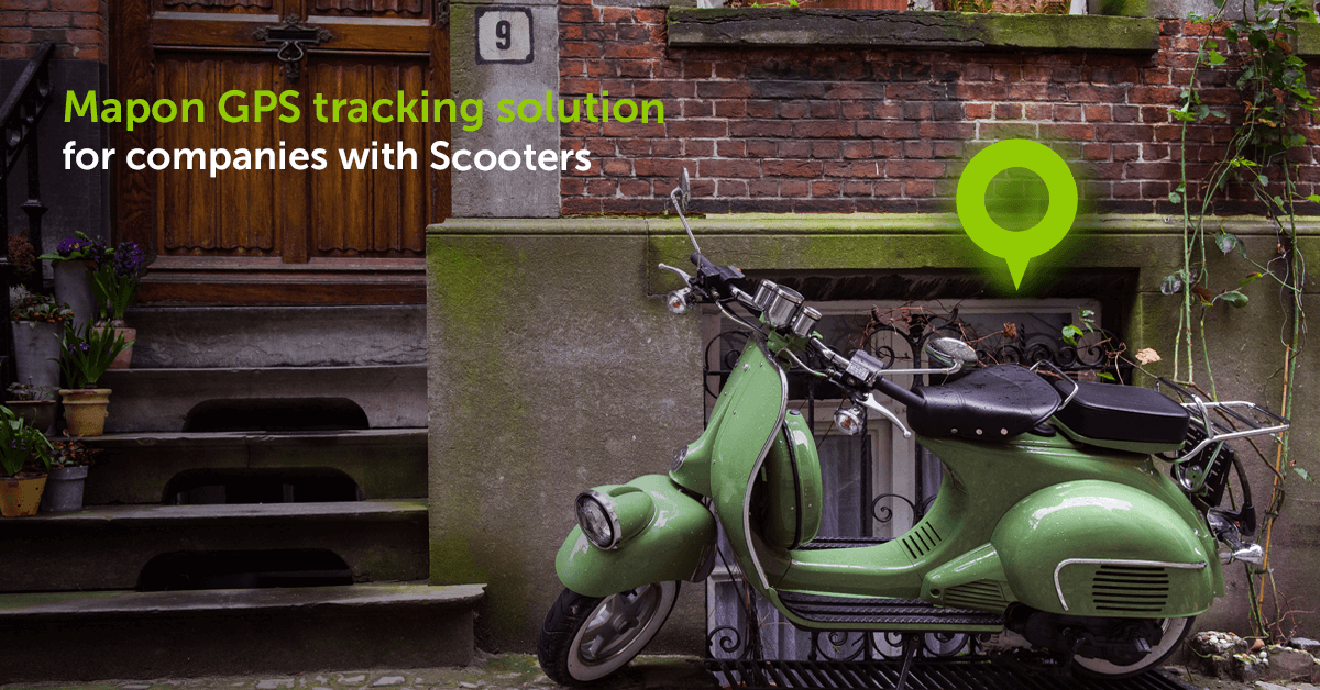 Is your business using Scooters? Find out how Mapon can improve your business processes!