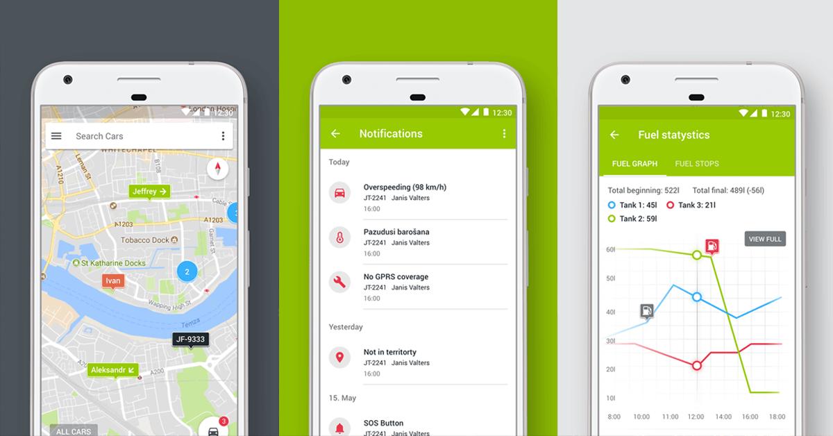 Mapon Android aplikācijas atjauninājums – jaunas funkcijas un uzlabots dizains