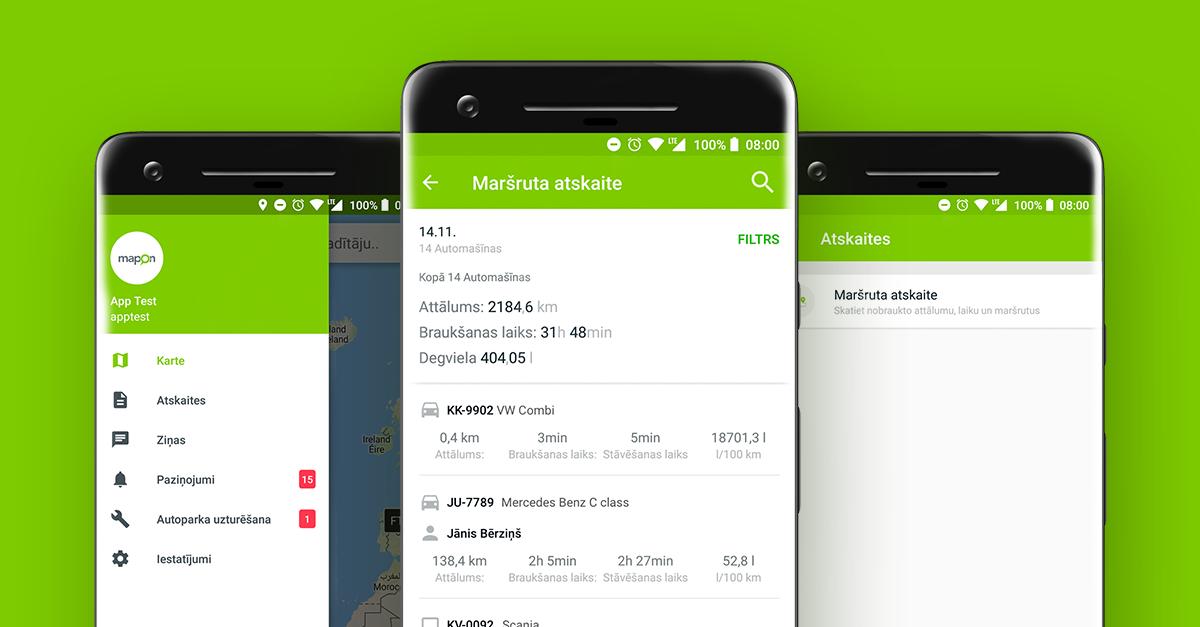 Mapon aplikācija: vēl praktiskāka, ērtāka un pieejamāka