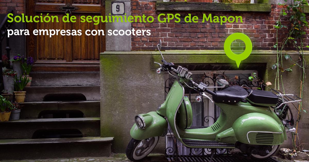 ¿Usa Scooters en su negocio? Descubra cómo puede ayudarle Mapon a mejorar los procesos de su empresa