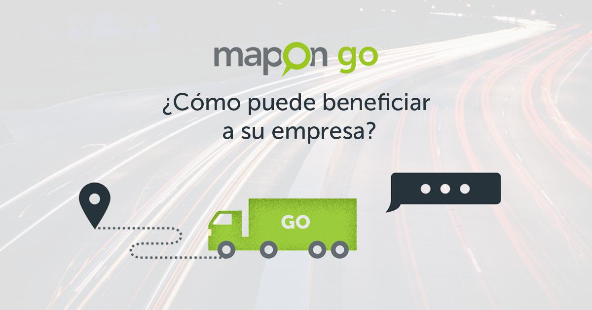 ¡Mapon GO! ¿Cómo puede beneficiar a su empresa?