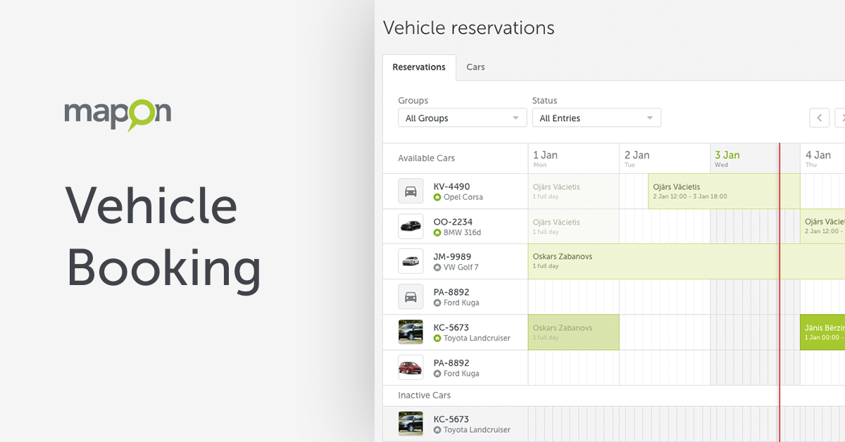Vehicle Booking: Save Time and Save Your Fleet Costs