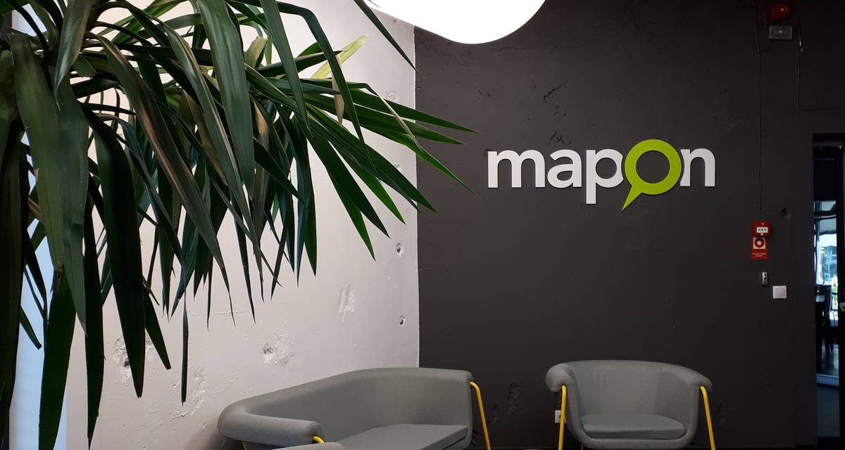 Riiassa tutustumassa Maponin pääkonttoriin
