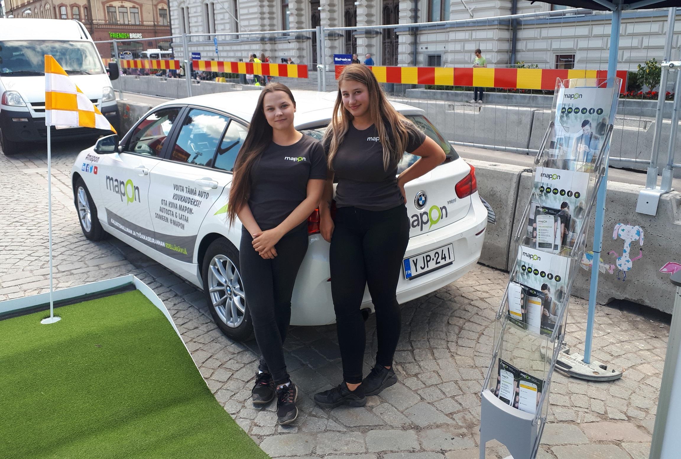 Roadshow jälleen Tampereen Keskustorilla!