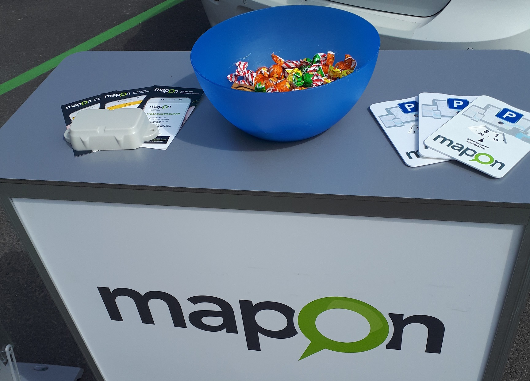 Maponin Golf Roadshow viihdytti Suomipop festarien aikaan Jyväskylässä!