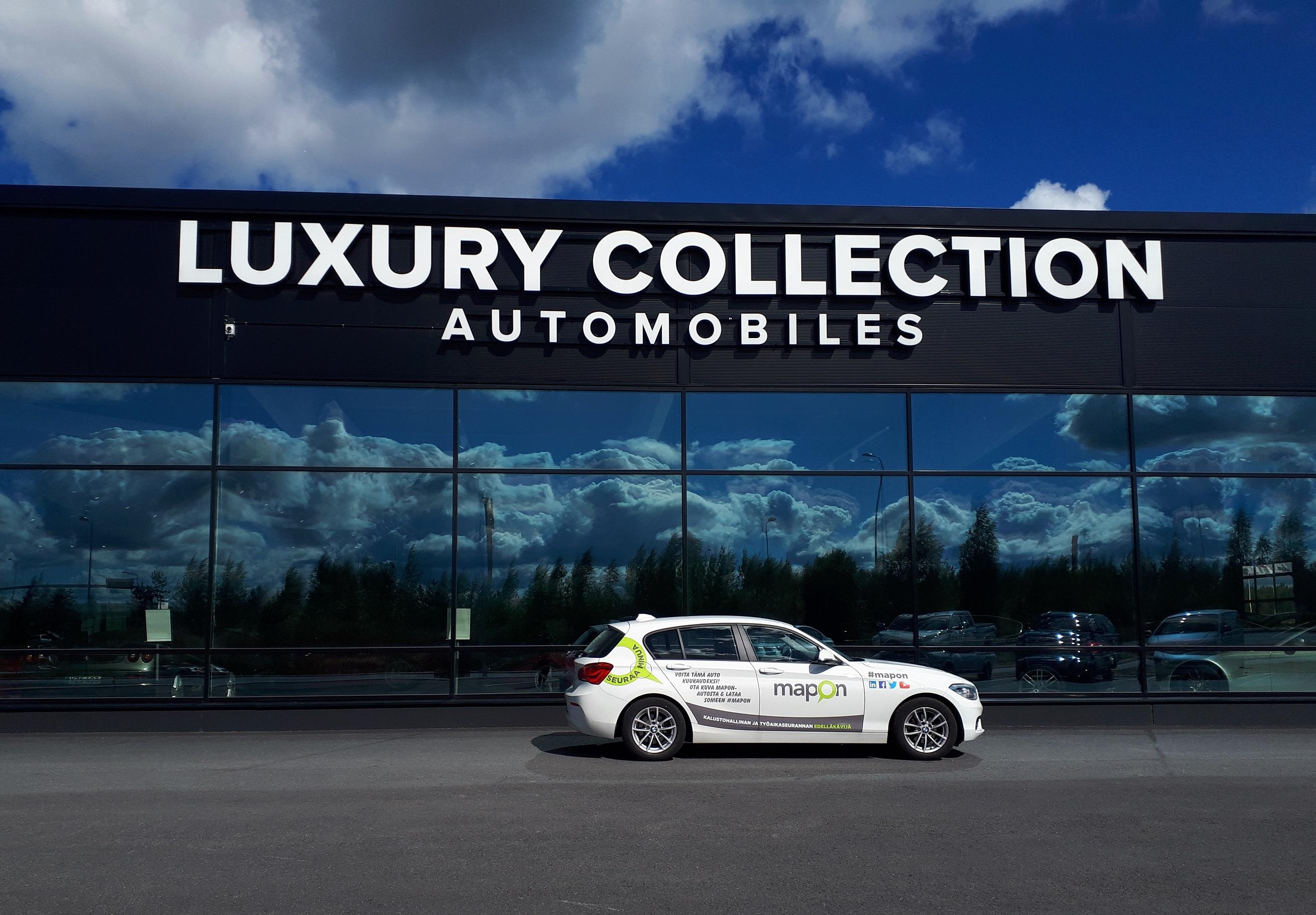 Luksusautotalon demoautoja varmennetaan Mapon-palvelulla – Haastattelussa johtaja Esa Schroderus