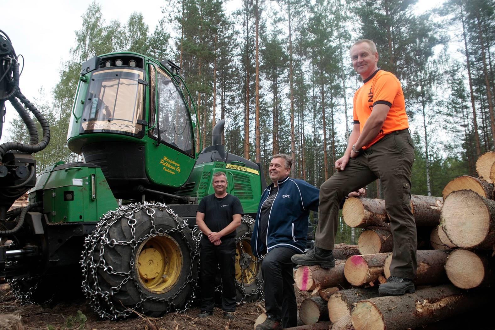 Metsänkorjuu Pulkkinen Oy hyödyntää Maponia autokaluston seurannassa ja huollossa!