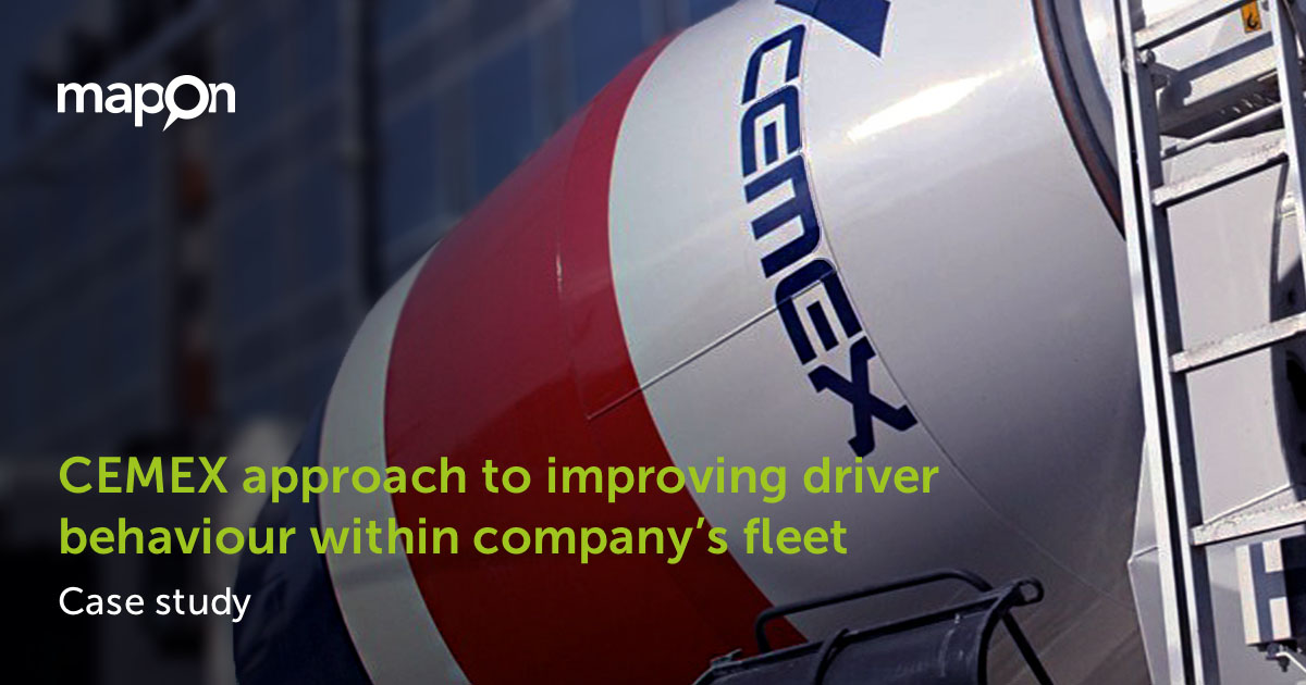CEMEX approach to improving driver behaviour within the company's fleet