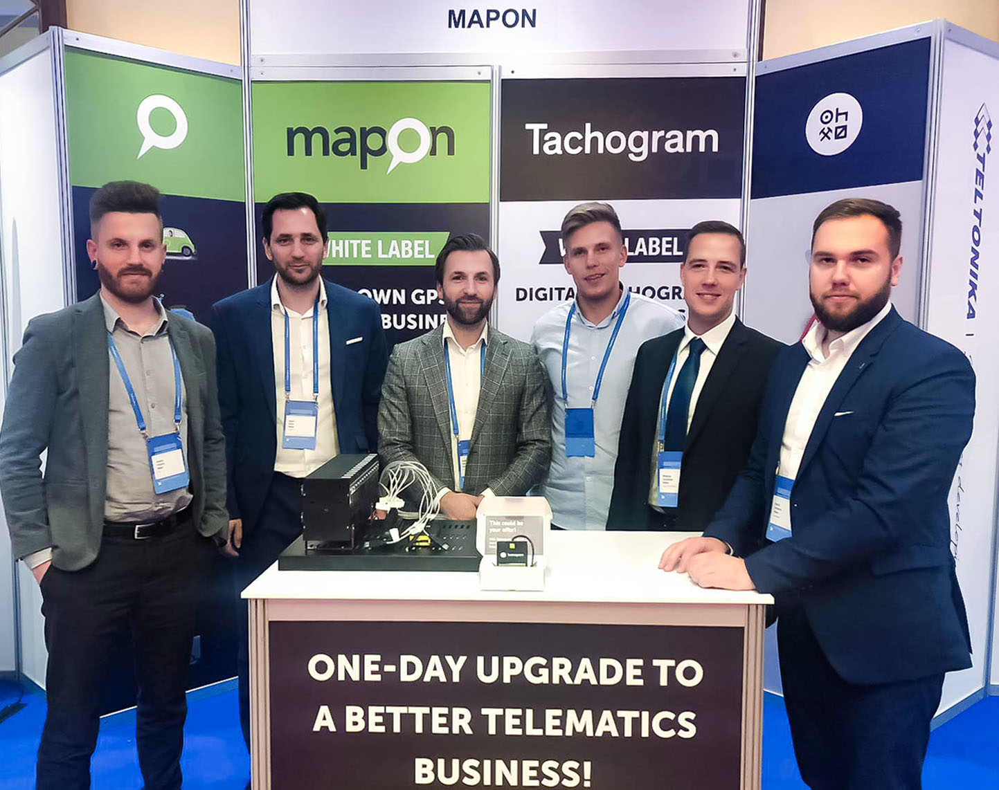 Mapon showcases company solutions and expertise in the annual Telematics Conference in Warsaw