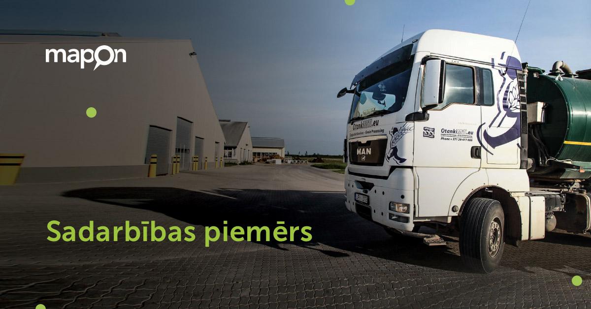 Izmantojot Mapon risinājumus, samazina autoparka degvielas patēriņu par 10%