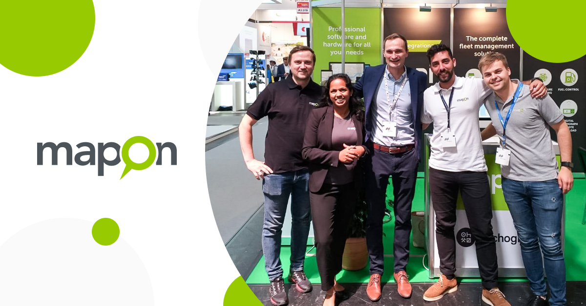 Mapon exhibits at the leading industry trade fair in Munich