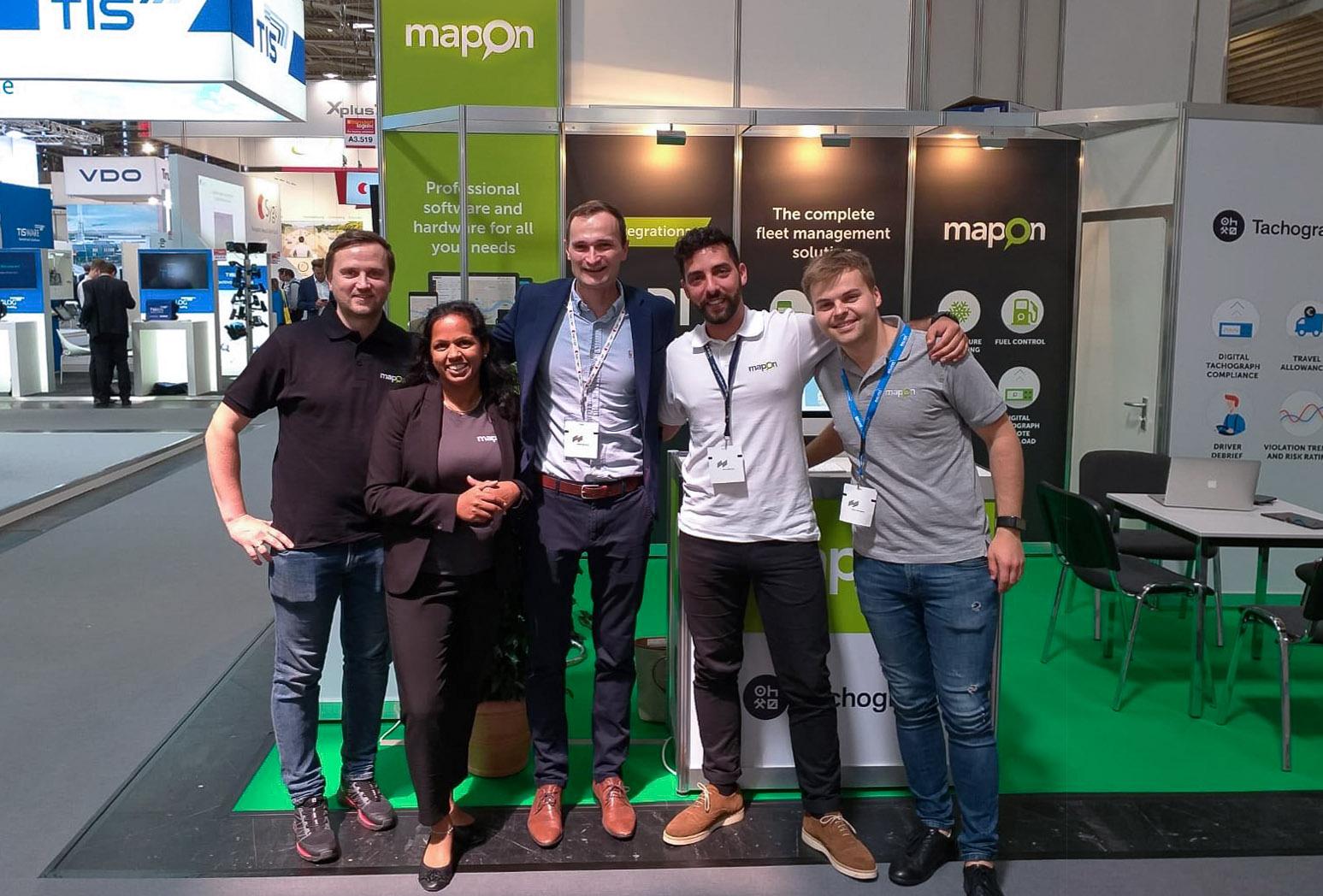 Mapon estuvo en la feria líder de la industria en Munich