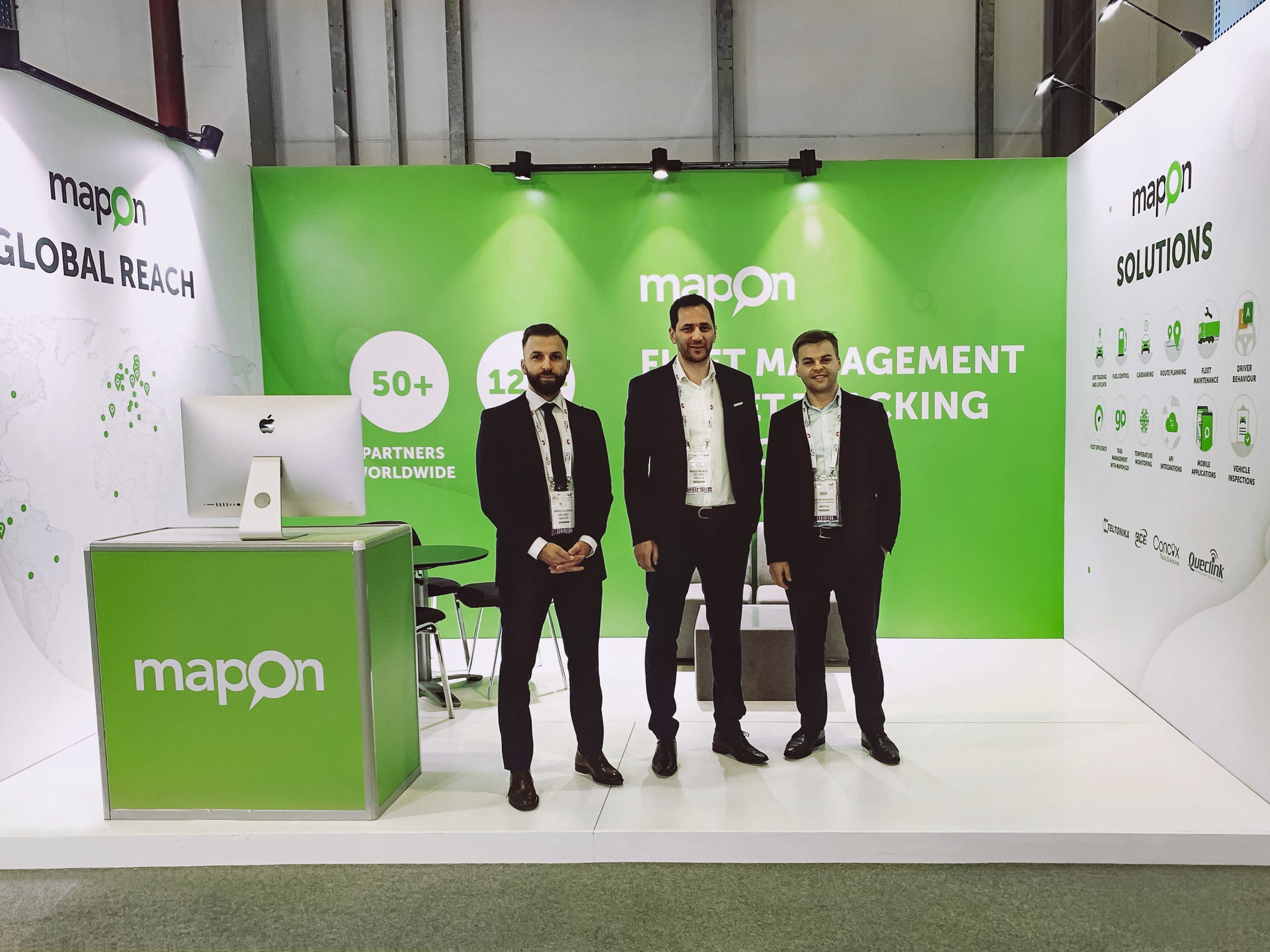 Mapon exhibits in GITEX Technology Week in Dubai