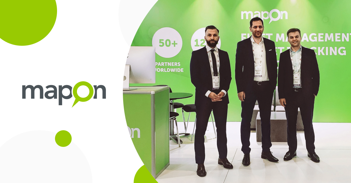 Mapon exhibits in GITEX Technology Week in Dubai