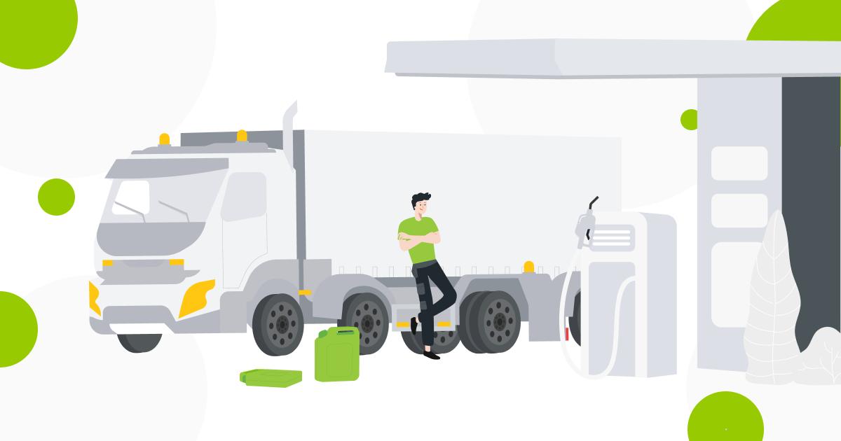 Hoe het brandstofverbruik binnen de vloot efficiënt te beheren?