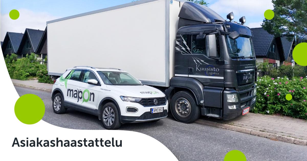 Mapon yritystoiminnan tukipilarina – Haastattelussa Kuusisto Logistics
