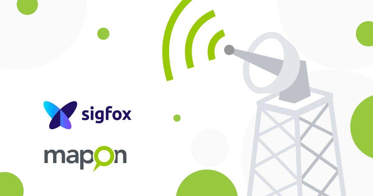 Mapon breidt het aanbod van tracking oplossingen uit met apparaten die in het SigFox-netwerk werken