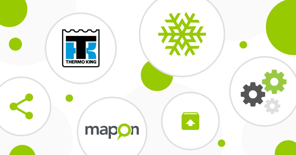 Hoe Thermo King temperaturen bekijken op het Mapon platform?
