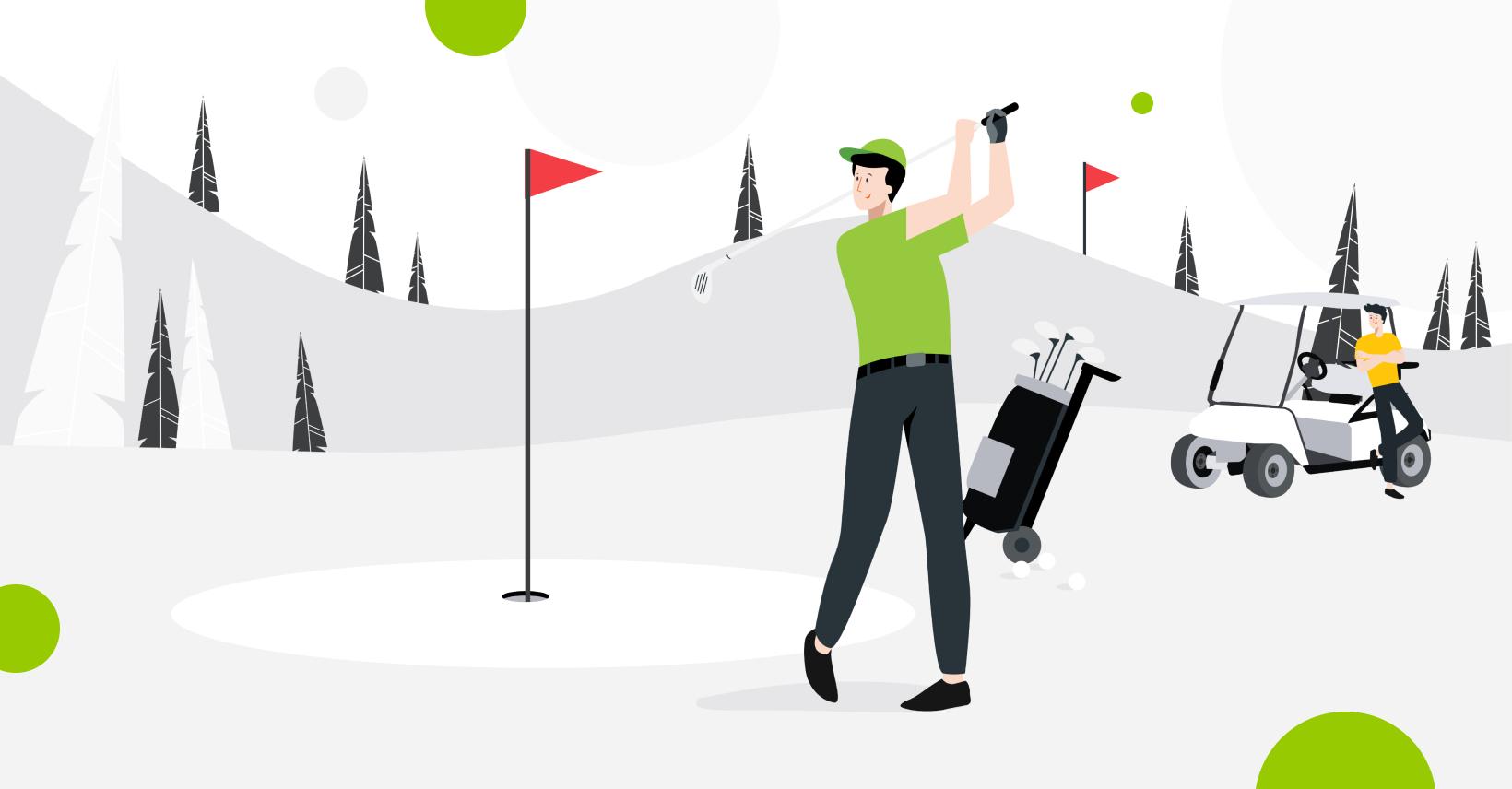 Golfin huippuviikonloppu tulossa!