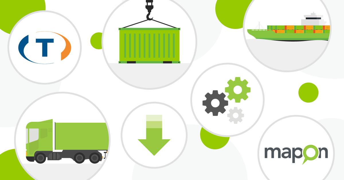 Hoe data van Mapon gebruiken in het Trans.eu vracht platform?